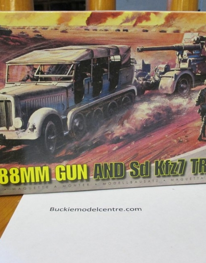 88 mm Gun plus 1/2Track SD Kfz7 - Airfix Kit