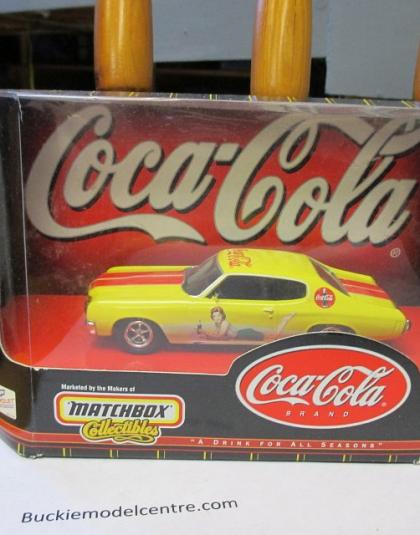 Coca Cola Chevrolet 1970 Chevelle - Matchbox Collectables 96553
