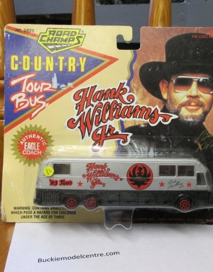 Hank Williams 1993 Tour Bus - Road Champs 5920