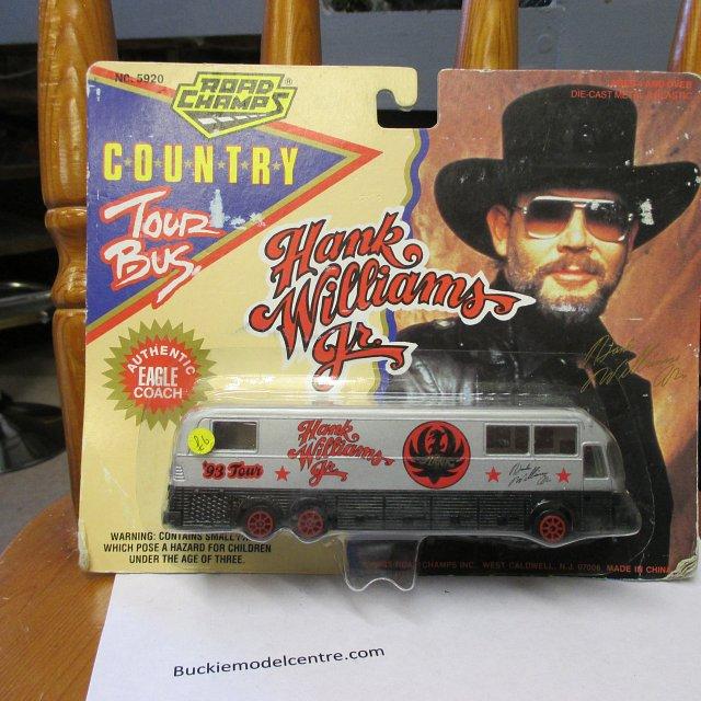 Hank Williams 1993 Tour Bus – Road Champs 5920 1