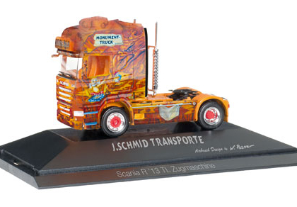 """Scania R rigid tractor """"Herpa Monument Truck"""", PC - HERPA 110822"""