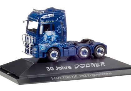 Robert Dobner MAN TGX XXL 6x2 rigid tractor