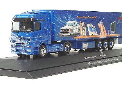 Herpa/Schumacher Mercedes-Benz Actros LH refrigerated box semitrailer , PC - Herpa 120159