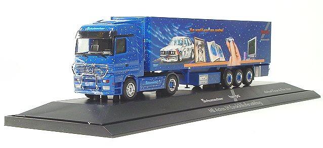 Herpa/Schumacher Mercedes-Benz Actros LH refrigerated box semitrailer , PC – Herpa 120159 1