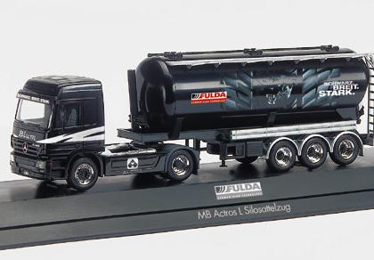 "Mercedes-Benz Actros L promotionn truck ""Fula/Blum"", PC  Herpa 120470"