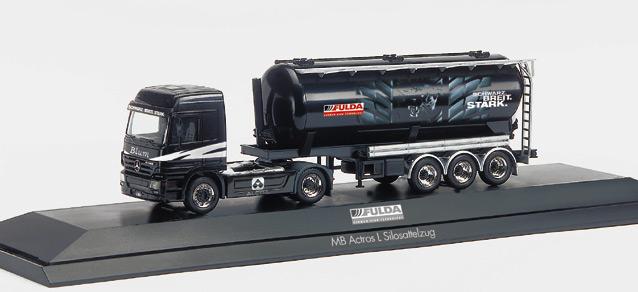"Mercedes-Benz Actros L promotionn truck ""Fula/Blum"", PC  Herpa 120470 1"