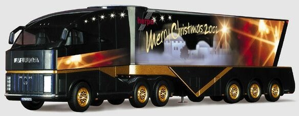 Christmass 2002 Special Truck - Herpa 148061