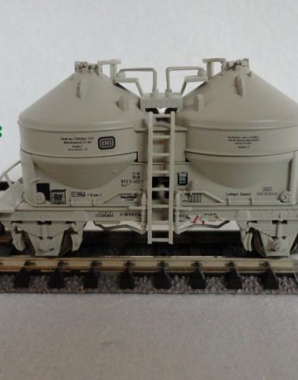 DB Cement Silo Wagon - Minitrix 15258-08