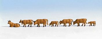 Brown Cows 7 - Noch 15722