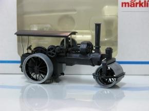 Steam Road Roller 1.87 scale by Marklin 1895 - M?rklin, Artikel-Nr. 1895, Dampfwalze, neuwertig, hat nur auf einer Platte als Deko gestanden, OVP