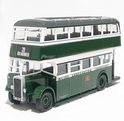 Aberdeen Corporation Transport Daimler utility bus - Corgi CC25502 1.50th Scale