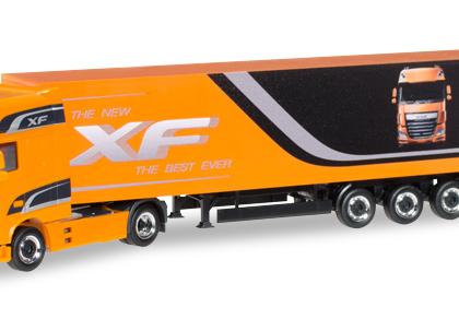 "DAF Promotion Truck DAF XF Euro 6 SSC box semitrailer """" - Herpa 305709"