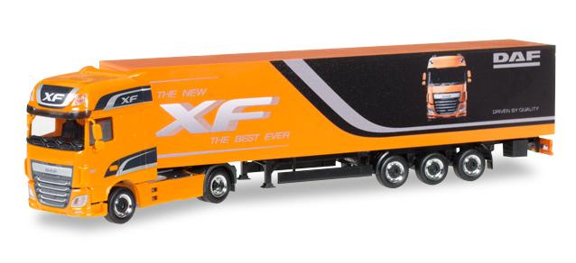 "DAF Promotion Truck DAF XF Euro 6 SSC box semitrailer """" – Herpa 305709 1"