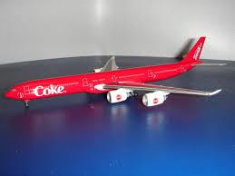Coca Cola Airbus A340-600 - Lemke LC25002