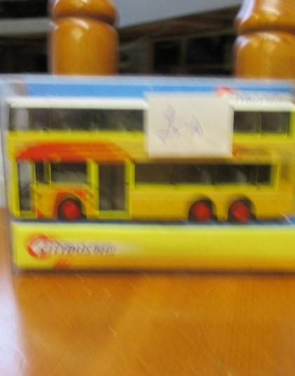 Hong Kong Citybus Mini Olympian  Route 592- Gordon Trading No 00009