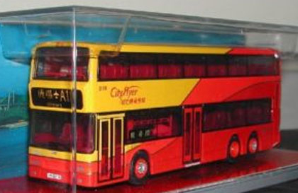 Hong Kong Citybus Duple Metsec Trident CITYFLYER - Corgi 44502