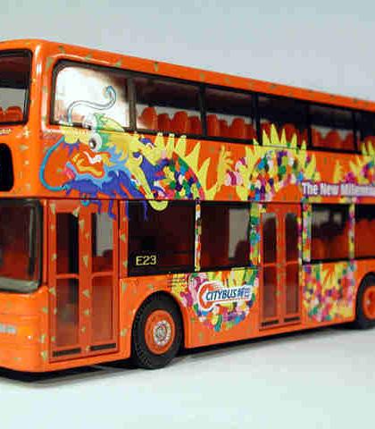 Hong Kong Citybus Duple Metsec Trident Year of Dragon - Corgi 44510