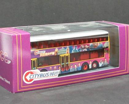 Hong Kong Citybus Trident/Duple Metsec Millenium livery  - Corgi 44512