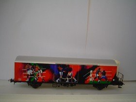 Box Van with boxing figures on side - Rco 47055.4