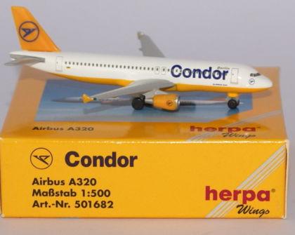 CONDOR Airbus A320 - Herpa 501682