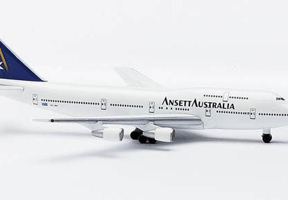 Ansett Australia Boeing 747-300 - Herpa 503921