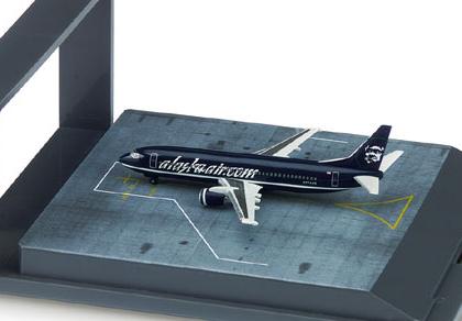 """Alaska Airlines Boeing 737-400 """"alaskaair.com"""" (Exclusive Series) - Herpa 505529"""