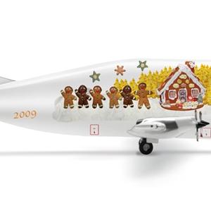 "Aero Spacelines 377-SGT Super Guppy ""Christmas 2009"" - Herpa 506922"