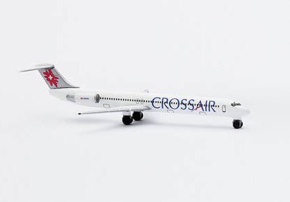 Crossair McDonnell Douglas MD-83 - Herpa 507653