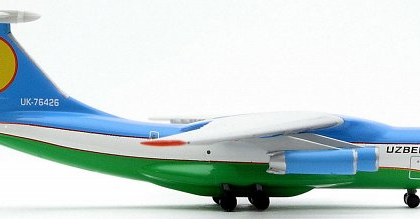 Uzbekistan Airways Ilyushin IL-76 - Herpa 510714