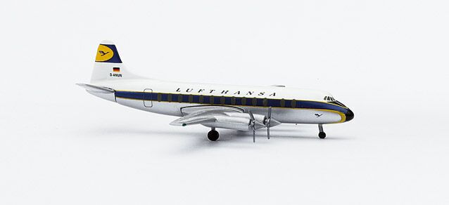 Vickers Viscount V814 Lufthansa - Herpa 511780