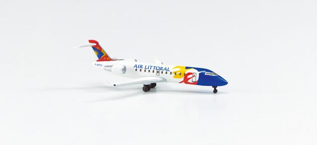Air Littoral Canadair Jet CRJ200 - Herpa 513234