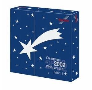 Advent calendar 2002 contains 737 Ryainair, A300 Air Plus, Viscount Contenental, 757 Aero Mexico - Herpa 513333
