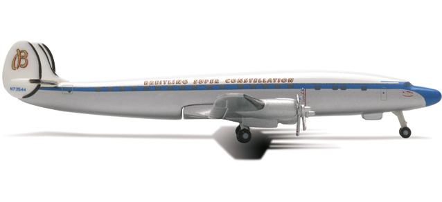 Breitling  Lockheed L-1049 Super Constellation - Herpa 514279