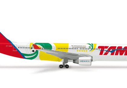 "TAM Airbus A330-200 ""World Cup 2010"" - 515580"