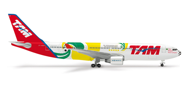 "TAM Airbus A330-200 ""World Cup 2010"" – 515580 1"