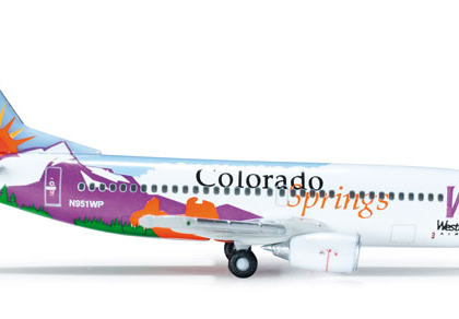 "Western Pacific Boeing 737-300 ""Colorado Springs"" - Herpa 519151"
