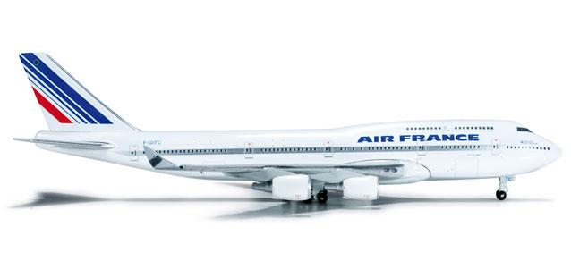 Air France Boeing 747-400 F-GITC - Herpa 523844
