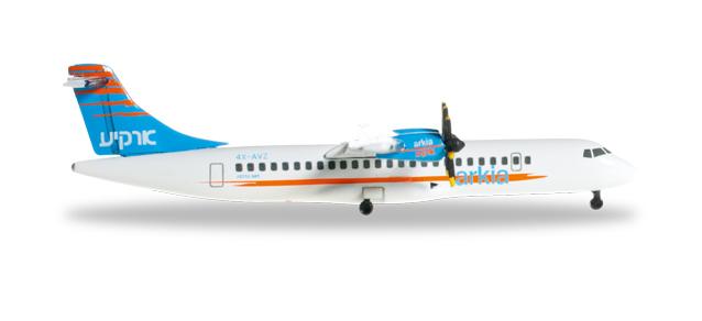 Arkia Israel Airlines ATR-72-500 – Herpa 527262 1