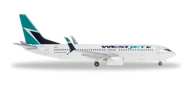 Westjet Boeing 737-800 - Herpa 528061