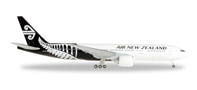 "Air New Zealand Boeing 777-200 Registration: ""ZK-OKC"" - Herpa 528450"