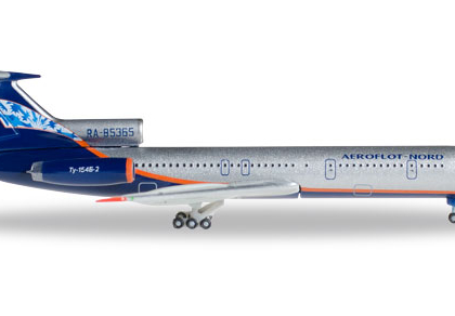 Aeroflot Nord Tupolev TU-154B-2 Reg RA-85365- Herpa 528764