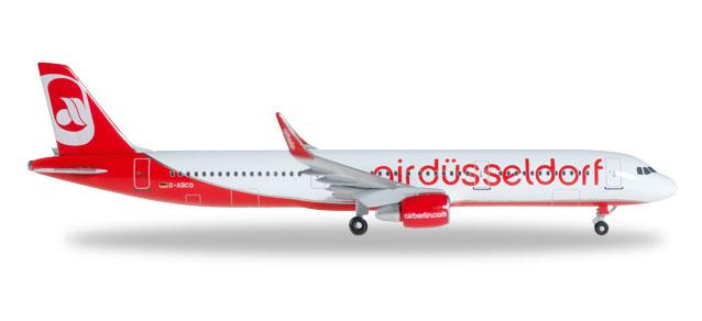 aird?sseldorf Airbus A321 - Herpa 528832