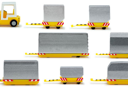 Container Vehicles 1.200 scale Airport Accesories