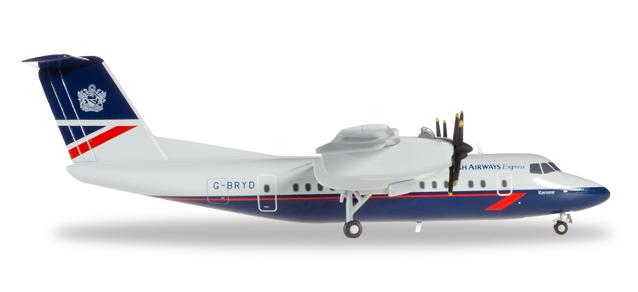 Herpa Wings 1:500 embraer erj-145 british airways 531092