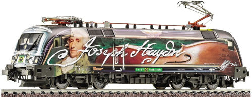 GySEV Rh1047 Hayden Electric Locomotive - Fleischmann 731103