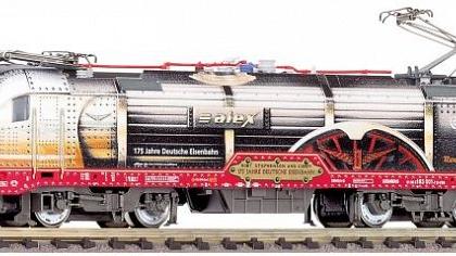 Arriva BR 183 Taurus Electric Locomotive VI (DCC-Sound) - Fleischmann 731272