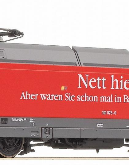 DB Class 101 075-0 Nett hier - Fleischmann 735501 DCC Fitted