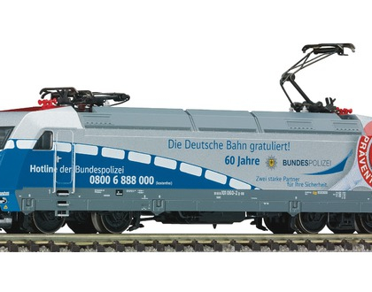 DB Class 101 060-2 60 years Bundespolizei - Fleischmann 735502 DCC Fitted