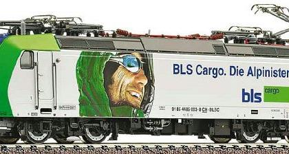 BLS Re 485 BLS Cargo Alpinisten - Fleischmann 738507 DCC Fitted