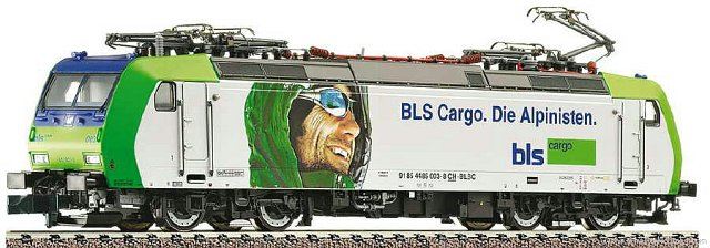 BLS Re 485 BLS Cargo Alpinisten - Fleischmann 738507 DCC Fitted